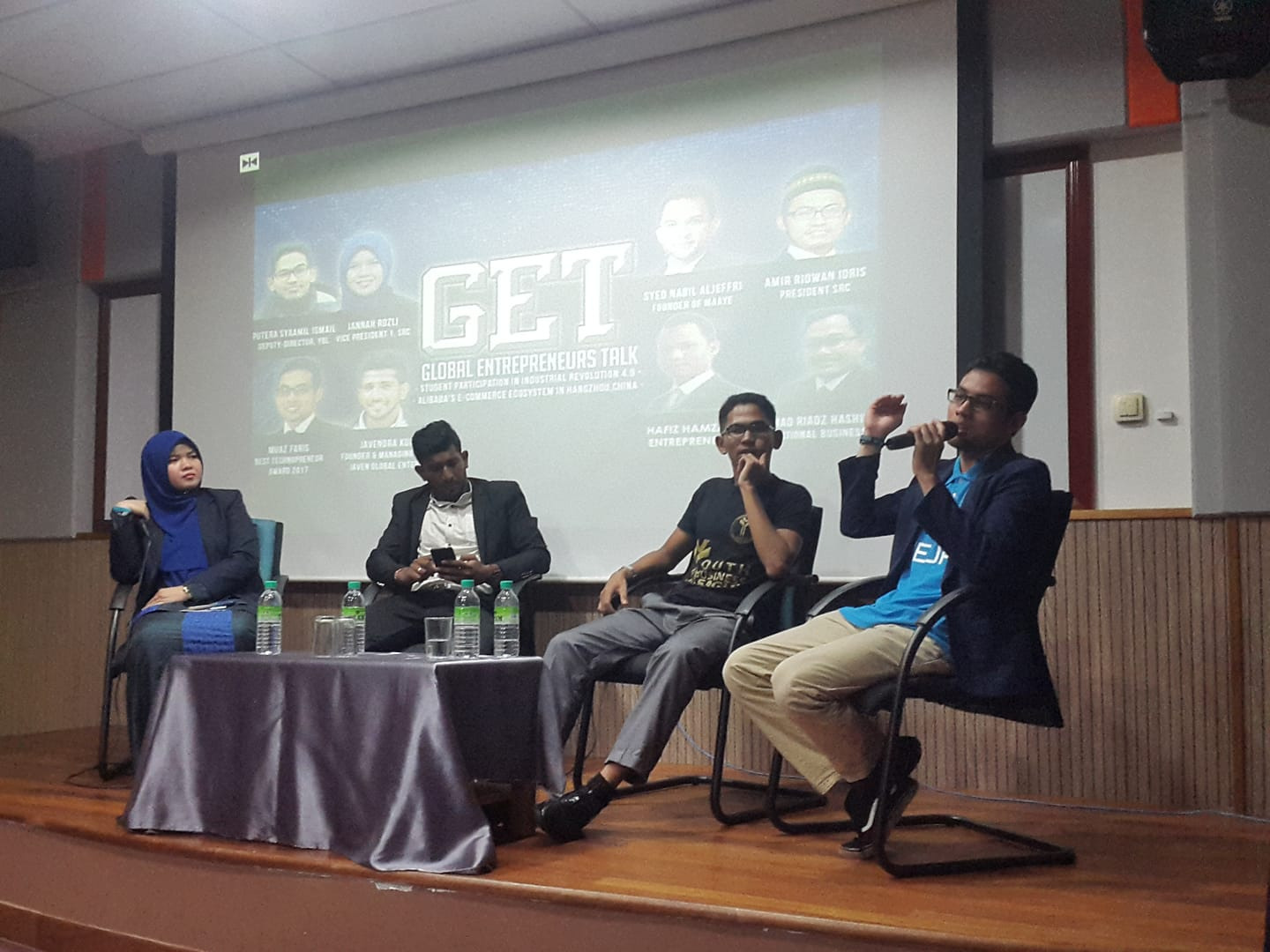 Global Entrepreneurs Talk (GET) - Muaz Faris