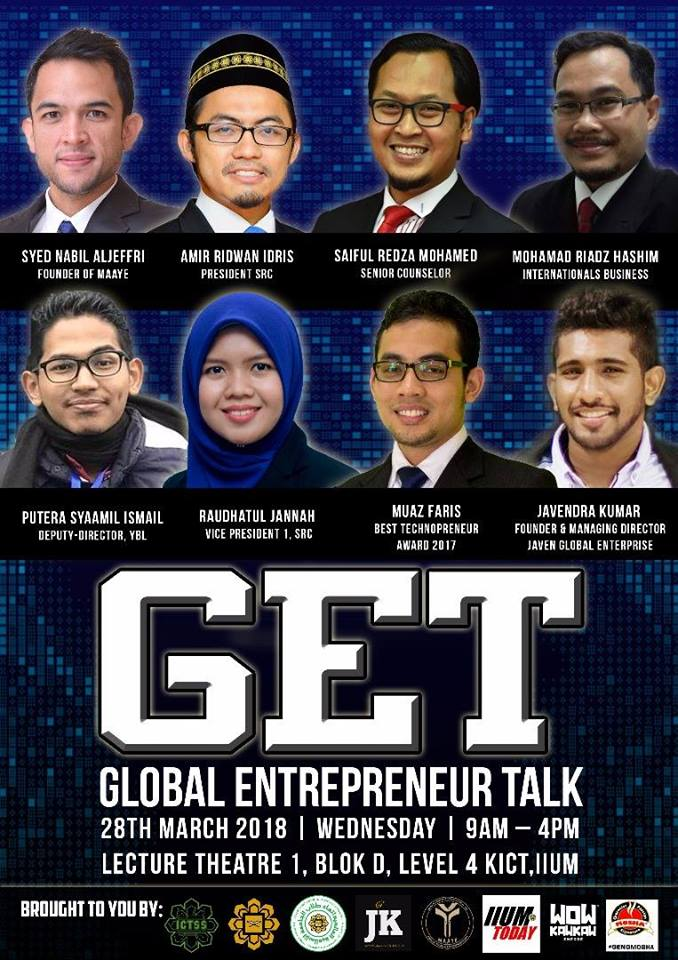 Global Entrepreneur Talk - Muaz Faris